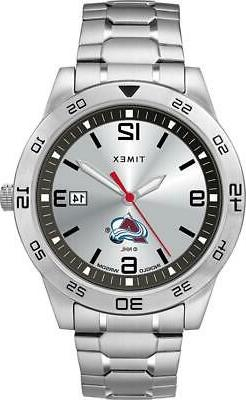 Men's Colorado Avalanche Watch Timex Citation Steel Watch