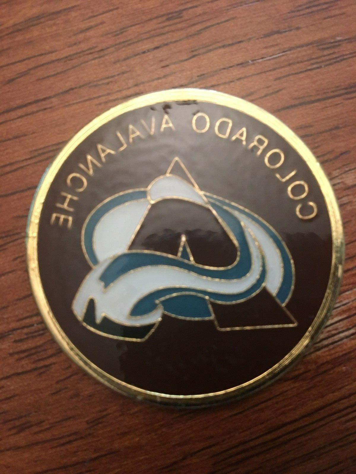 new collector coin colorado avalanche nhl