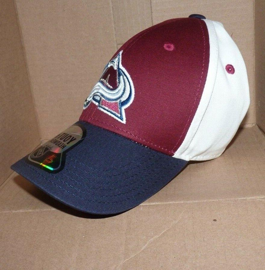 NEW NHL Colorado Avalanche Curved Baseball NWS