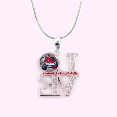nhl colorado avalanche 925 sterling silver team