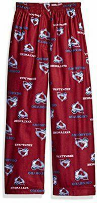 NHL Colorado Avalanche Boys 4-7 Sleepwear All Over Print Pan