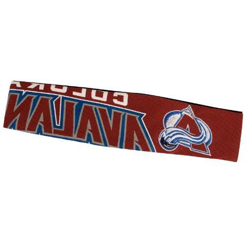 nhl colorado avalanche fanband headband