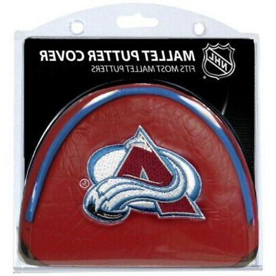 nhl colorado avalanche mallet puttercovers