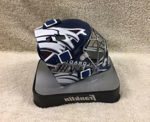 NHL Colorado Goalie Mask