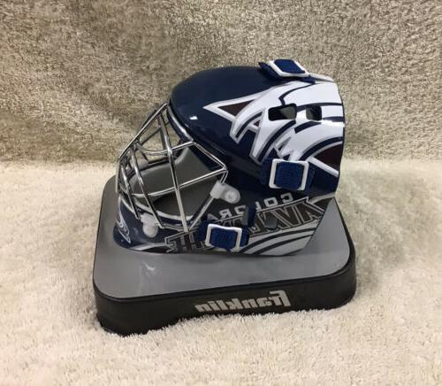 NHL Colorado Goalie Mask Packaging