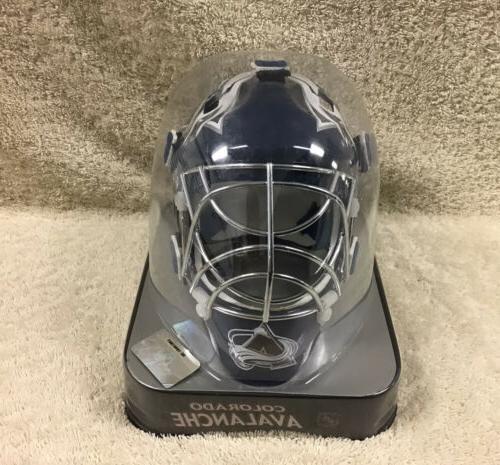 nhl colorado avalanche mini goalie mask original