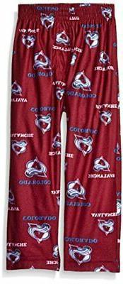 Outerstuff NHL Colorado Avalanche Toddler Boys Sleepwear All