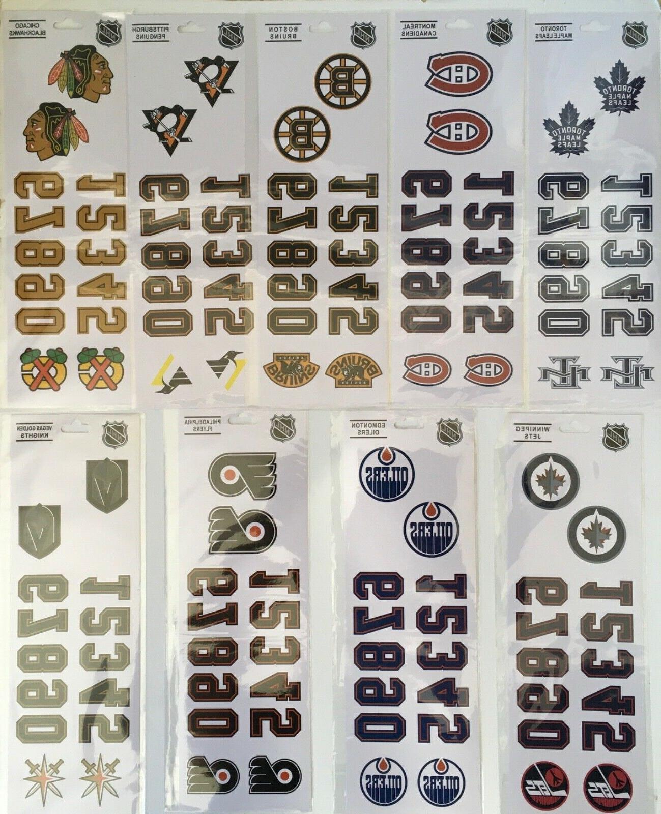 NHL Decal Sticker - Team
