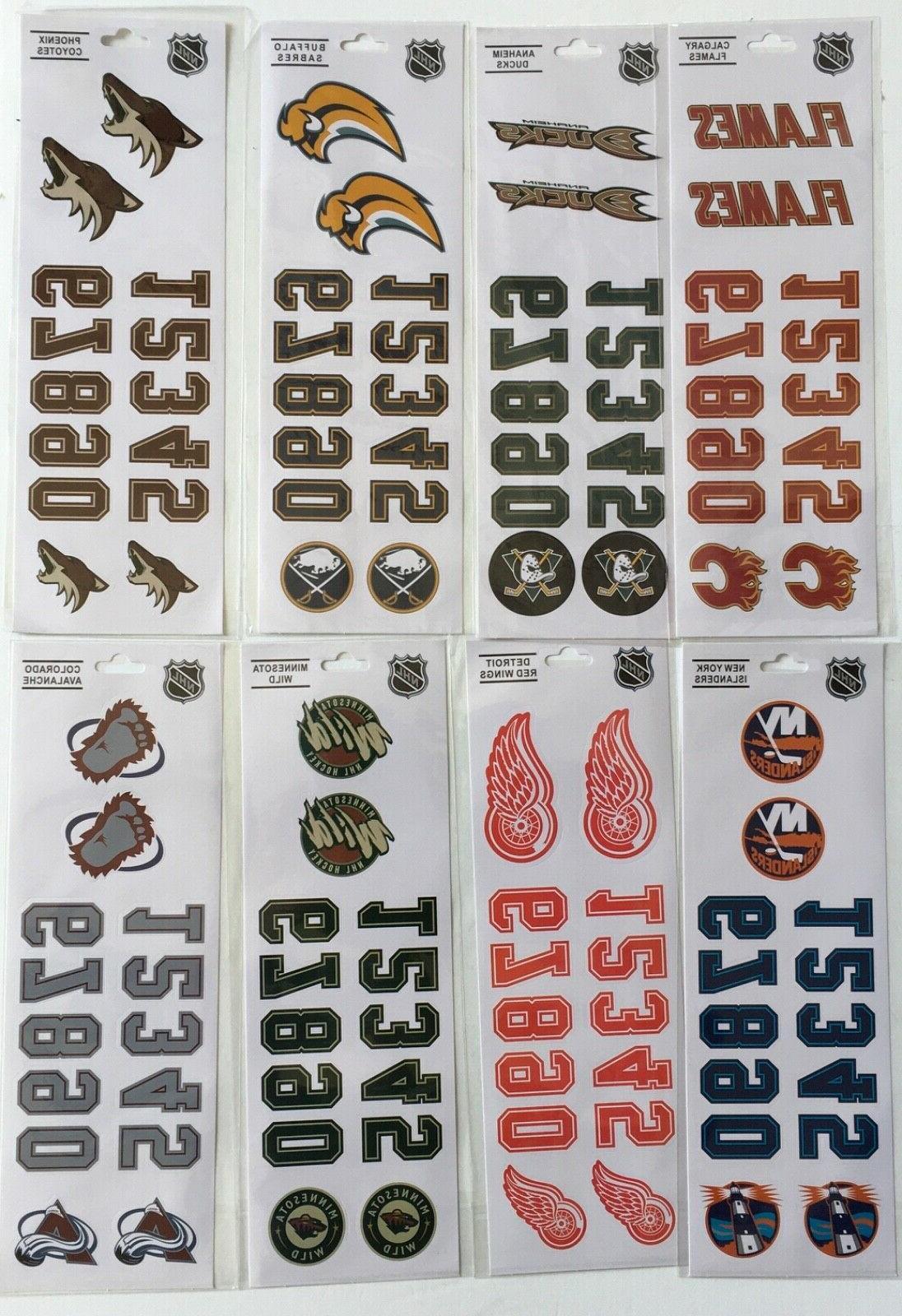 NHL Sticker - Choose Team