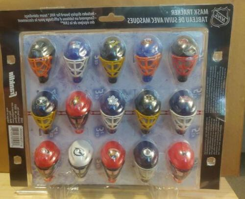NHL Hockey Goalie 30 Tracker in Package