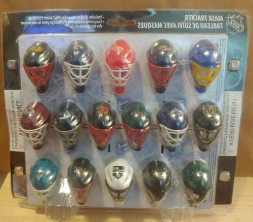 nhl hockey mini mask goalie 30 teams