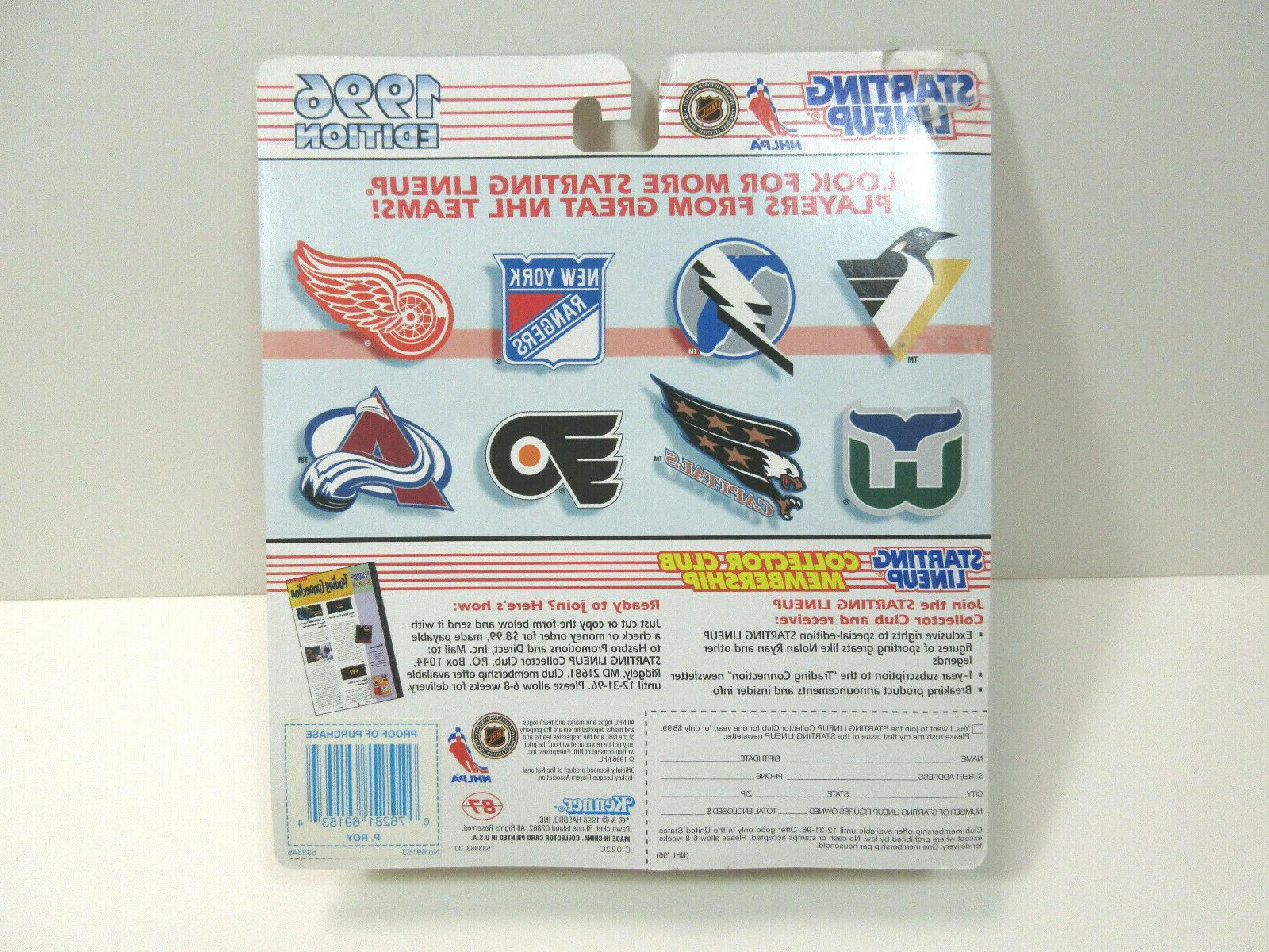 Patrick Roy 1996 Lineup NHL Action &