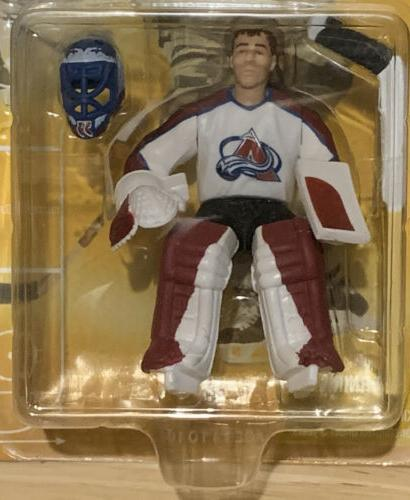 PATRICK Avalanche 1998 NHL Starting SLU Action Figure Card