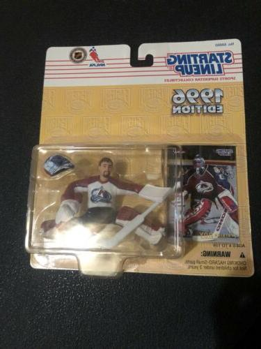 patrick roy colorado avalanche kenner 1996 nhl