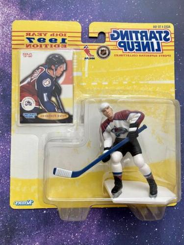 peter forsberg colorado avalanche kenner starting lineup
