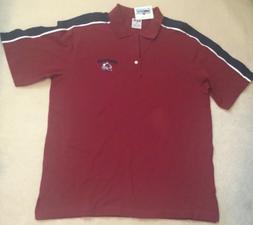 NEW NHL Colorado Avalanche Ice Hockey Golf Polo Shirt XL X-L