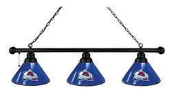 NHL 3-Shade Pool Table Light by Holland Bar Stool - Colorado