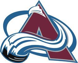 NHL COLORADO AVALANCHE Crystal European Team Charm Bracelet