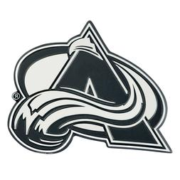 Fanmats NHL Colorado Avalanche Diecast 3D Chrome Emblem Car