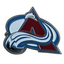 Fanmats NHL Colorado Avalanche Diecast 3D Color Emblem Car T
