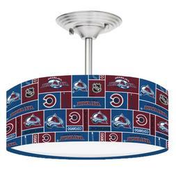 nhl colorado avalanche hockey 13 ceiling mount