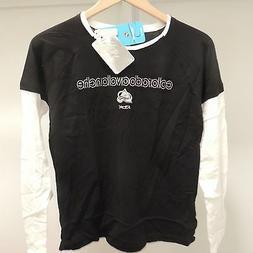 NHL Reebok Colorado Avalanche Long Sleeve Hockey Shirt New W
