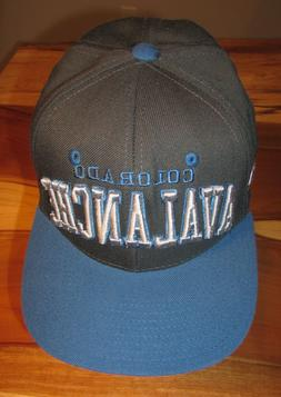 nhl colorado avalanche mens baseball cap gray