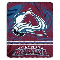New NHL Colorado Avalanche Large Soft Fleece Throw Blanket 5