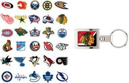 NHL Domed Keychain - Choose Your Team
