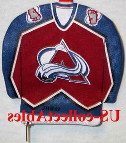 NHL Hockey Colorado Avalanche Jersey Money Pouch NEW Sports