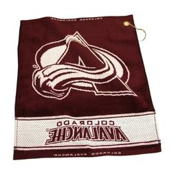 NHL Woven Towel, Colorado Avalanche
