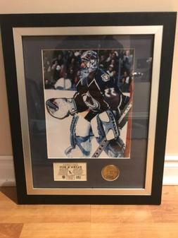 Patrick Roy Colorado Avalanche Framed 500th Victory Picture