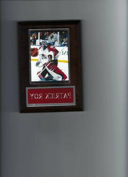 PATRICK ROY PLAQUE COLORADO AVALANCHE HOCKEY NHL