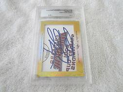 ray bourque 2017 leaf masterpiece cut signature