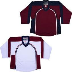 Team Lot/Set of 10 COLORADO AVALANCHE Hockey Jerseys BLANK o