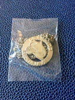 Vintage NHL Colorado Avalanche Hockey Jewelry - Silver Charm